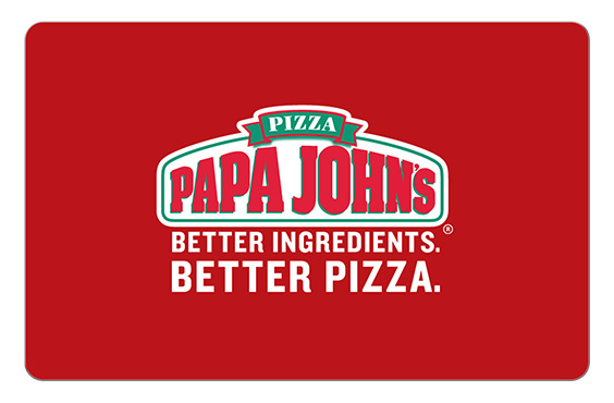 Papa John's Pizza Gift Cards